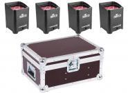 Vermietung Licht - Ambient Light Freedom Par Quad 4 IPB, schwarz 4er Set
