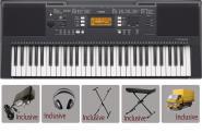 Yamaha Keyboard - PSR E 343 - Bundle 2