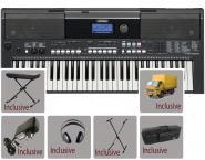 Yamaha Keyboard - PSR E 443, Bundle 2