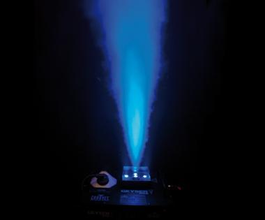 Chauvet Geyser RGB Nebelmaschine, vertikal, LED-Licht