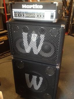 Hartke Bass Head - HA 3500 / Warwick WC 211 Pro / Warwick WC215 Pro, gebraucht