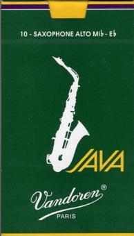 Vandoren Altsaxofonblätter 2.5 Java Green