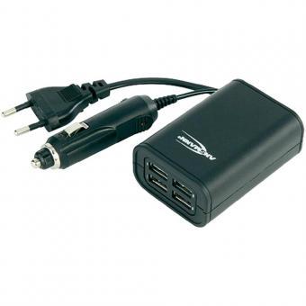 Ansmann USB Ladegerät - Quattro