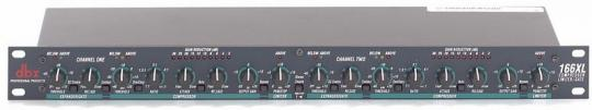 DBX 166 XL Stereo Comp Limiter, gebr.