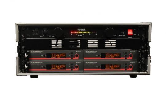 Vermietung Mikrofon - Funk Headset Sennheiser EW 300 - 4fach