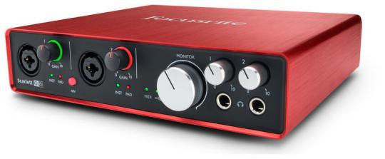 Focusrite Scarlett 6i6, 2nd Generation
