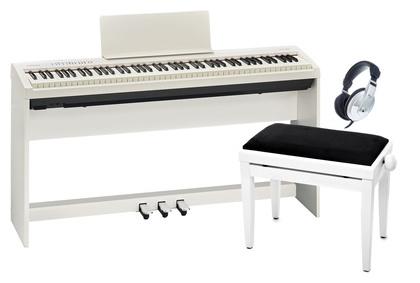 Roland Digitalpiano - FP 30 Homeset Komplettpaket, weiss