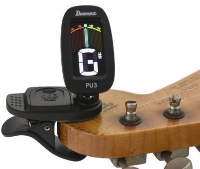 Stimmgerät - Ibanez PU3 - Clip Auto Tuner, schwarz