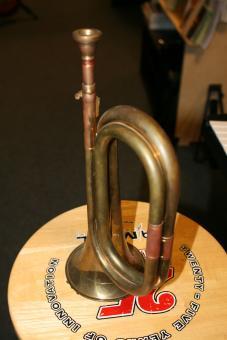 K&H Signalhorn C Messing, Ausstellungsstück