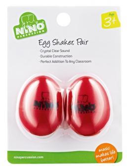 Nino Egg-Shaker,  2er Pack, schwarz