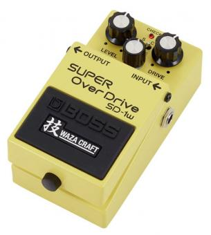 Boss Bodeneffekt - Super Overdrive SD 1W
