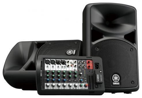 Yamaha Kompakt PA System - Stage PAS 400 BT