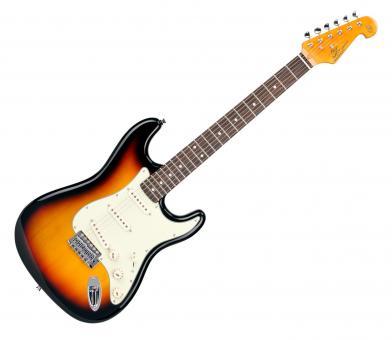Richwood E-Gitarre - 3/4 Grösse, weiss