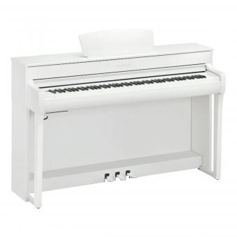 Yamaha Digitalpiano - CLP 735 wh - weiss matt