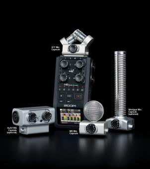 Vermietung Recording - Zoom Kompaktstudio - H6