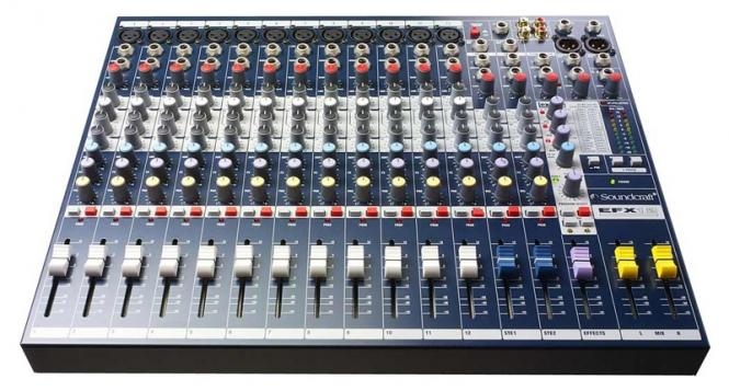 Soundcraft Mixer EFX 12