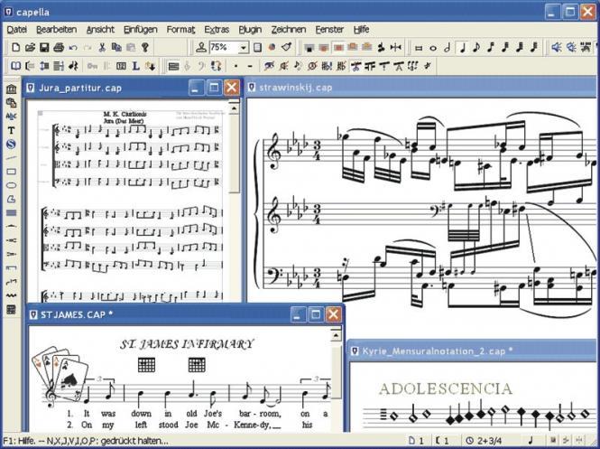 Capella Notationssoftware - Capella 7.1