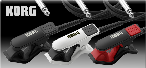 Korg CM-200 | Kontaktmikrofon Rot