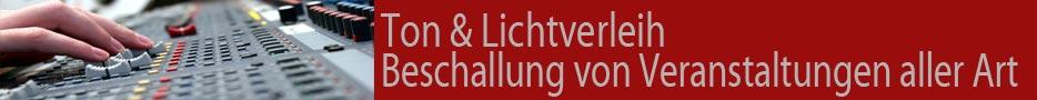 Banner Verleih